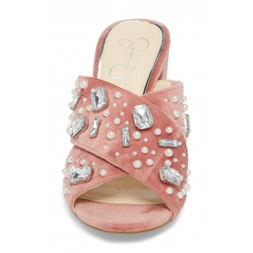 JESSICA SIMPSON Men Rizell Sandal Synthetic and textile upper/synthetic lining and sole 5591887 TLWQJTE