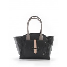 Guess Women Tote Black Color blocked detail 41384894 SCIVFMX
