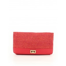 Banana Republic Factory Store Women Clutch Coral Solid 41003497 JZVVYXZ