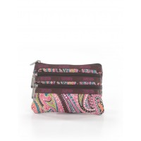 LeSportsac Women Clutch Brown Printed 40363521 HILIPYR