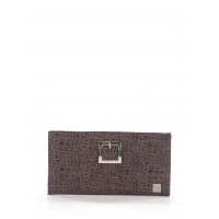 Miche Women Leather Clutch Brown Animal print 38742409 BYWKKWO