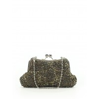 Women Clutch Dark Green Solid 40951499 OIZIMKP