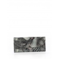 Women Clutch Gray Animal print 40832204 BHWQNHQ