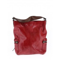 TANO Women Leather Hobo Red Solid 41303251 HYZTZCH
