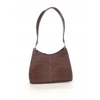 Liz Claiborne Women Shoulder Bag Brown Animal print 38924958 VQPFHNQ