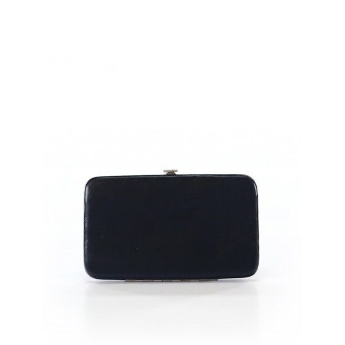 Women Wallet Black Solid 40371798 JBAURHK