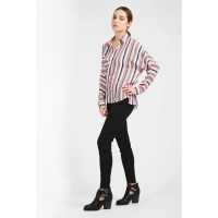 Women MULTI STRIPE LOTUS SHIRT S0430102026_MULTI VVOQGMZ